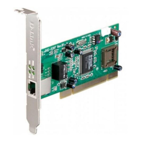 Network Card D-Link DGE-528T PCI 10 / 100 / 1000 Mbps