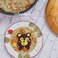 熊本熊奶油浓汤盖浇饭的做法图解5