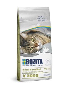 Bozita dry feed D/sterile.  Growing, ...