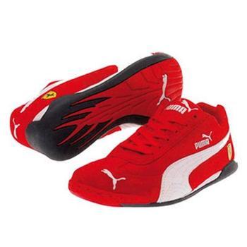 Puma SF Light Flight junior Red/White size 34