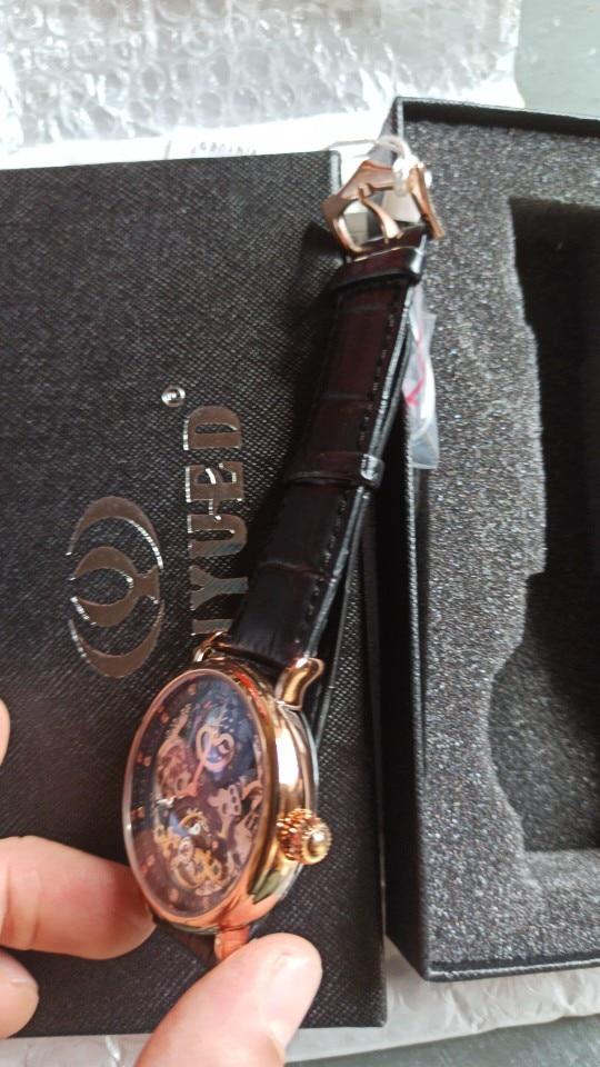 -- Relógio Kinyued Esqueleto