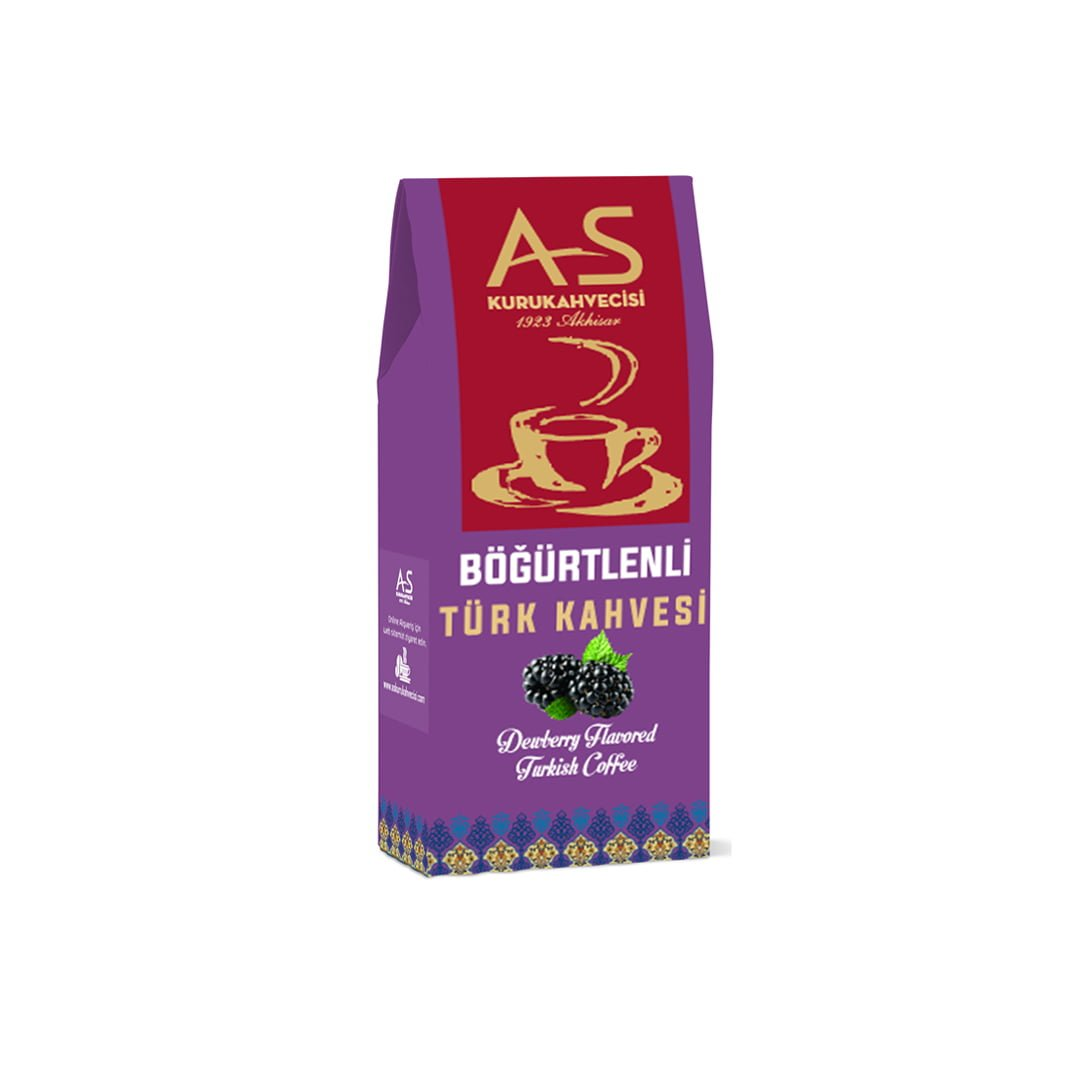As Coffee-Turkish Coffee With Blackberry, 100 G