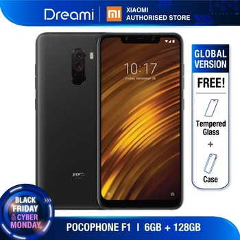 Versión Global Xiaomi Pocophone F1 128GB ROM 6GB RAM (Nuevo y Sellado) pocophoneF1128