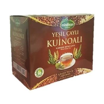 Mindivan zielona herbata Quinoa herbata ziołowa herbata Slim Fit przeciwutleniacz Detox Anti-Aging tradycyjna zdrowa herbata suchy proszek herbata tanie i dobre opinie TR (pochodzenie)