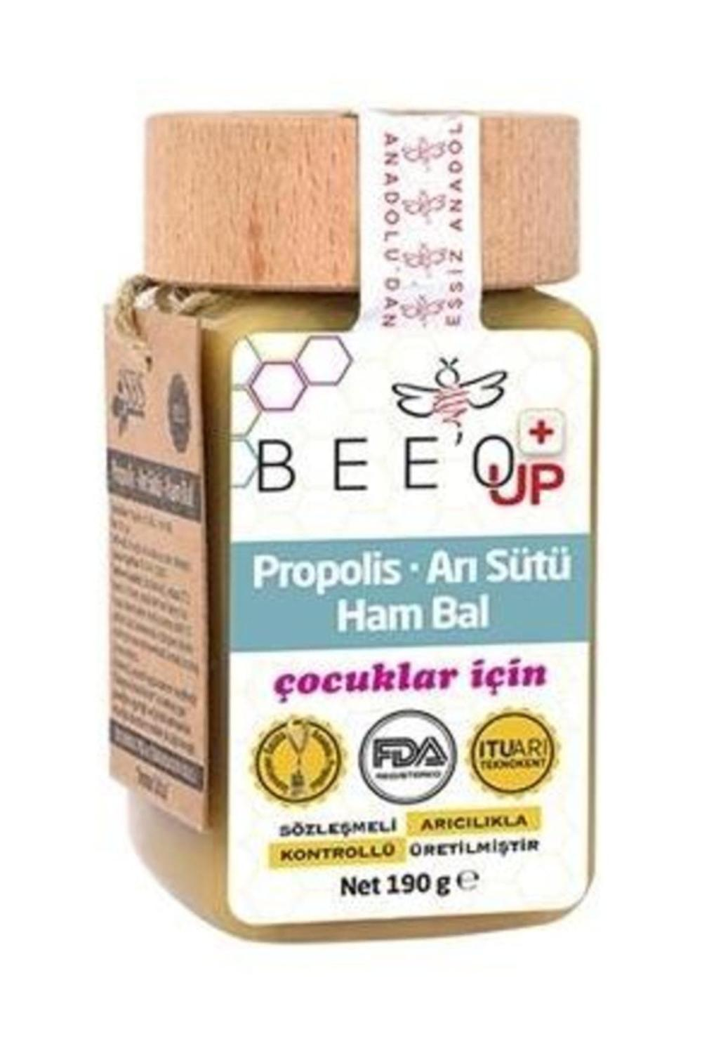 BEE O UP Propolis Royal Jelly Raw Honey For Children
