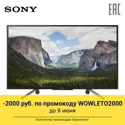 تلفزيون 49,5 سوني kdl-50wf665 SmartTv 49.5InchTv (لينكس) ، واي فاي ، 1080p كامل HD (1920x1080)