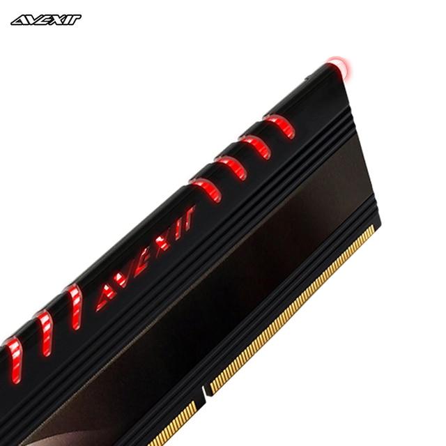 ram memory ddr4 8G(2x4gb) 2133MHz Avexir Core Series Blue  light dimm