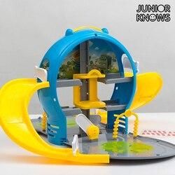 Kinder Auto Park mit Fall
