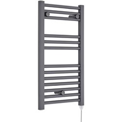 DIGISU 500X800 BLACK ELECTRICAL TOWEL RADIATOR