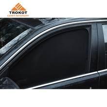 Standart, авто шторки для легковых авто, тканевые на магнитах, обшитые, Трокот