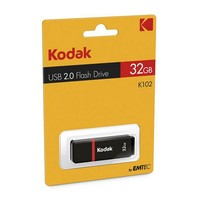 Pendrive Kodak K102 USB 2.0 Black|USB Flash Drives|Computer & Office -