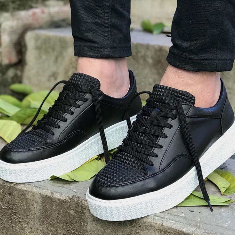 Men Sneakers Casual Sport Shoes For Men Women Unisex Lace-up Men Shoes Lightweight Comfortable Flexible Fashion Style Leather Wedding Classic Shoes Breathable Walking Running Sneakers Tenis Masculino Zapatillas
