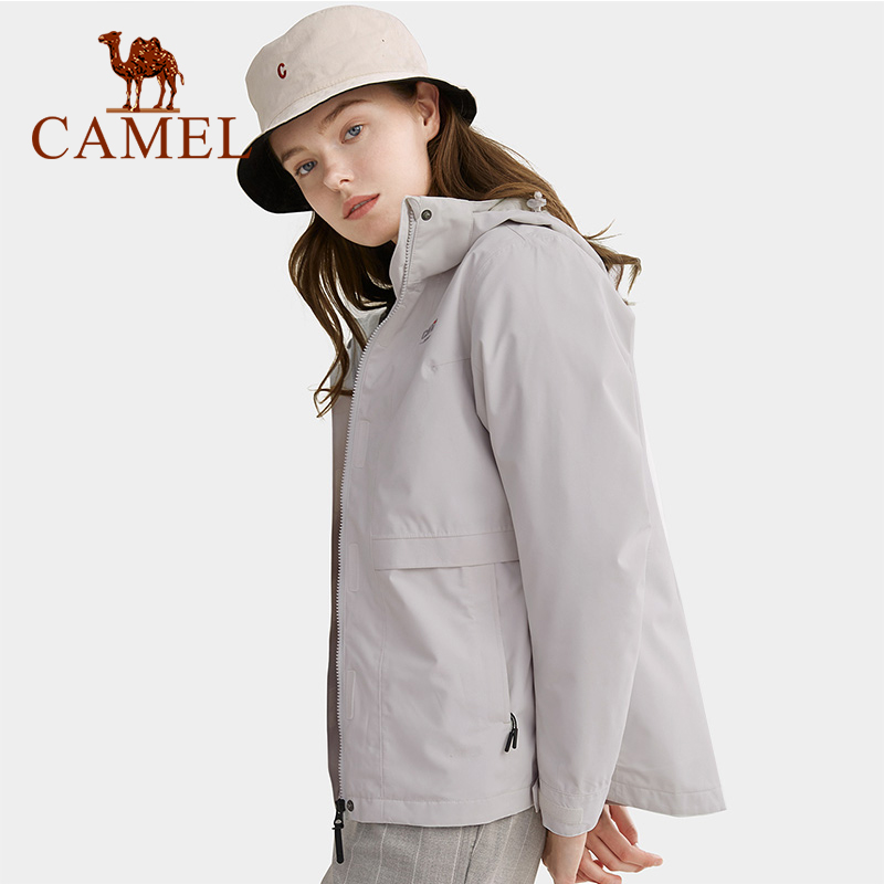 CAMEL Men Women Two-piece Set Outdoor Hiking Jacket Thermal Down Jacket Inner Waterproof Windbreaker Hiking Trekking Coat