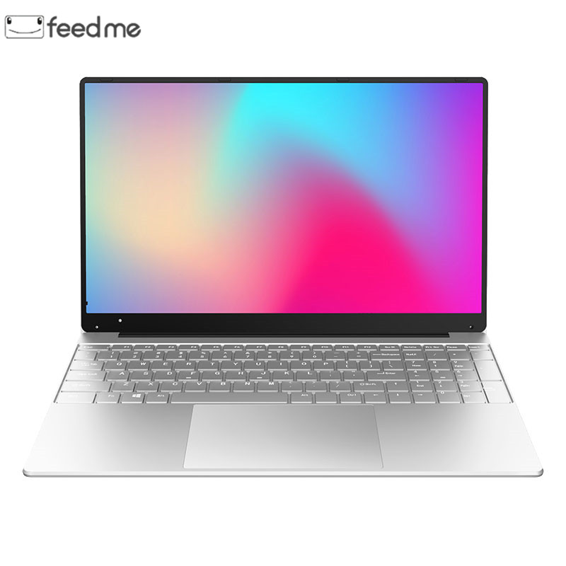 15.6 Inch Intel J3455 Quad Core Laptop With 8G RAM 512G 256G 128G SSD Student Laptops Ultrabook Win10 Notebook Computer