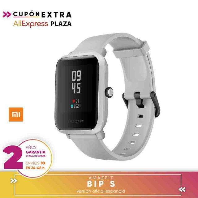 [Official Spanish Version warranty] Global Version Amazfit Bip S Smartwatch 5ATM GPS GLONASS Bluetooth Smart Watch 2