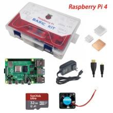 ShenzhenMaker магазин Raspberry Pi 4 Модель B Базовый комплект 1GB 2GB 4GB в наличии