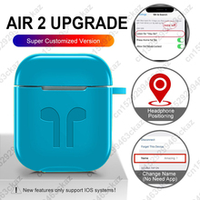 AIR 2 Upgrade Real Siri Change Name In ear Detection Earbuds Bluetooth Earphone