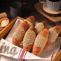全麦低脂海盐面包的做法图解12