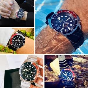 Image 2 - セイコー腕時計メンズ 5 腕時計自動高級ブランド防水スポーツ腕時計日付メンズダイビング時計レロジオ masculin snzf