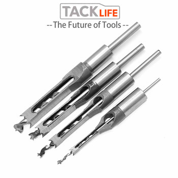 цена на TACKLIFE Hinge Drill Bit Set Puncher Hole 6/8/9.5/12.7mm Tool Parts Drill Power Cutter Drilling Tool Carpentry Woodworking Tools