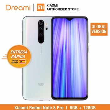 Global Version Xiaomi Redmi Note 8 PRO 128GB ROM 6GB RAM (LATEST ARRIVAL!!); note8 pro Smartphone Mobile