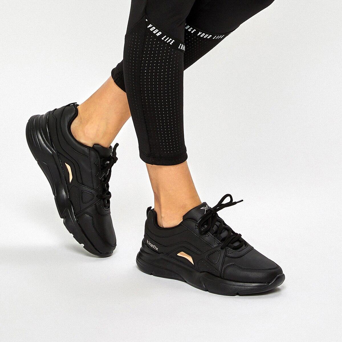FLO LOWAN W 9PR Black Women 'S Sneaker Shoes KINETIX