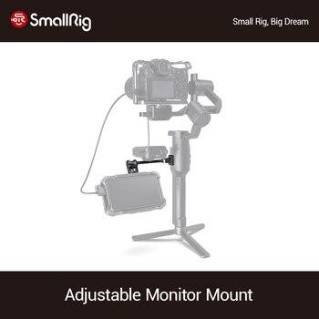 SmallRig Adjustable Monitor Mount For DJI RONIN-S/RONIN-SC & ZHIYUN CRANE 3/CRANE 3S/WEEBILL-S & MOZA AirCross 2 Gimbals -2889 aluminum alloy extend rod pole stick for dji ronin s osmo vimble 2 crane smooth 4 feiyu g6 g5 ak4000 a2000 telescopic handheld