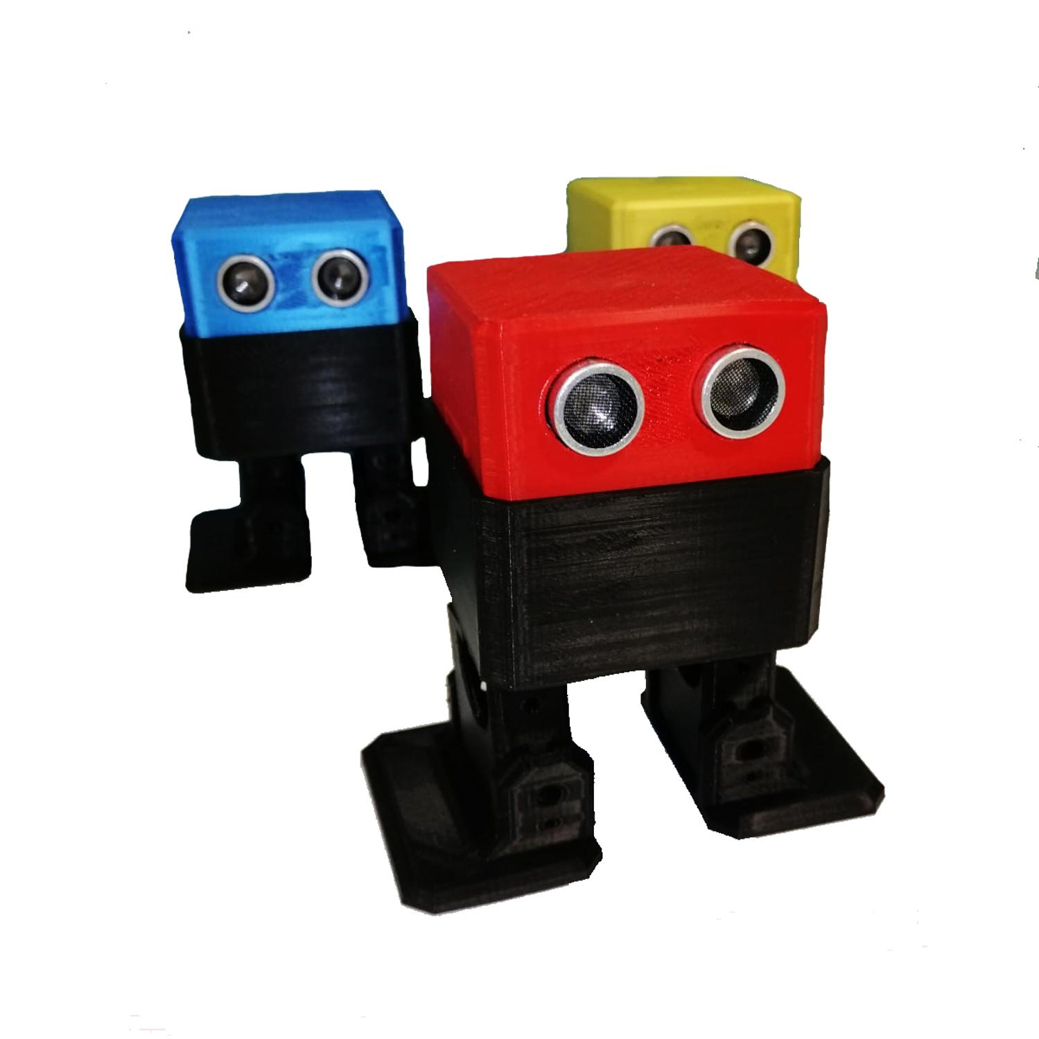 OTTO Robot Plastic Chassis - DIY Project Arduino UNO SG90 Servo Compatible Ultrasonic Sensor Robot Project for Beginners