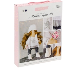 3299326 interior doll Leia, sewing kit, 18,9*22,5*2,5 cm