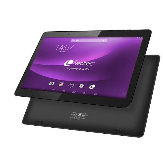 Tablet 10.1 Leotec Supernova I216 (IPs 1280x800 16:10) Android 8.1 Quad Core 16 GB 1 GB Bluetooth HDMI Dual Cam Bat.5000ma