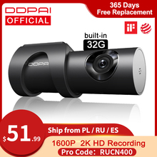 Ddpai Dash Cam Mini 3 1600P Hd 2K Auto Camera Auto Drive Voertuig Video Recroder Android Wifi 24H Parking Monitor Verborgen Dvr Mini3