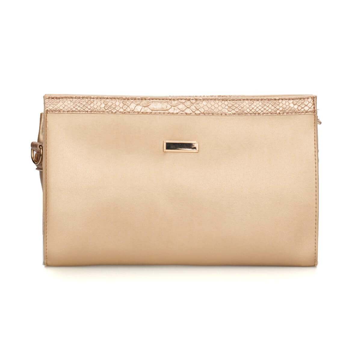 FLO 91.960. 619.C Gold Women Messenger Bag Polaris