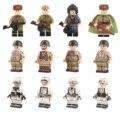 Армия 2 мировая война, солдаты советские, немецкие, американские. Фигурки, оружие конструктор, игрушки, солдатики, шлем, автомат
