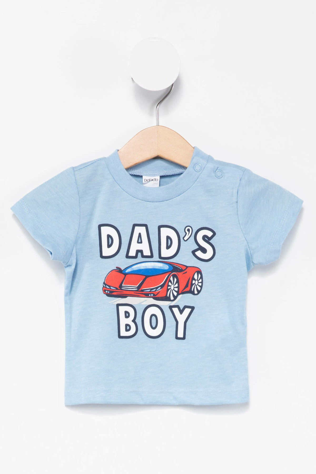 DeFacto New Boys Fashion O-neck Tops Boys Casual Cute Letter Pattern Short Sleeves Kids Comfort Tee Summer -J6774A218SM