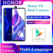 Honor 9X 4GB 128GB Mobile Phone 6.59 ''Screen AI 48MP Dual C