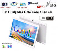 10,1 Tablet WITHTECH , 3G, OCTA CORE, 4 GB RAM DUAL SIM ANDROID 7