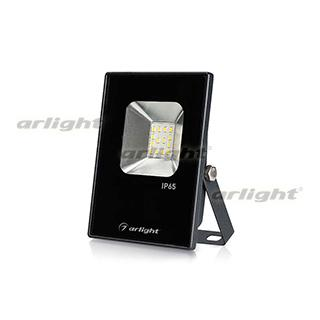 023567 LED Floodlight Ar-flat-ice-10w-220v White (black, 120 Deg) Arlight 1 PCs