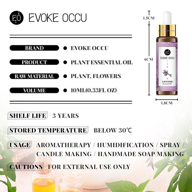 Sweet Orange Essential Oils 10ML with Dropper Diffuser Aroma Oil Lavender Eucalyptus Vanilla Peppermint Frankincense Oil 6
