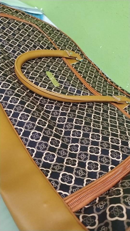 Unisex Handbags Boarding Bag High Quality Pu Portable Trolley Bag With Wheel Luggage