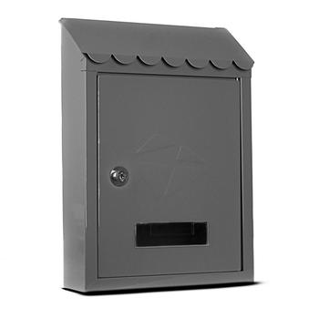 MAILBOX POST EXTERIOR EXTERNAL METAL LOCK CORREOPAQUETERIA FOR WALL