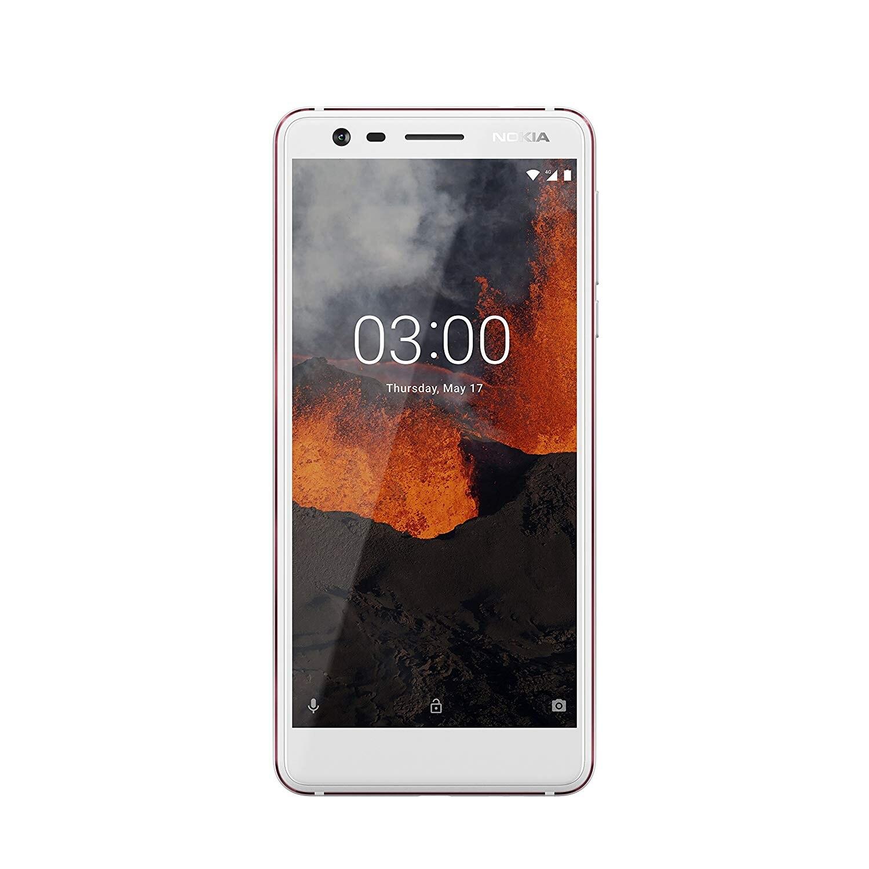 <font><b>Nokia</b></font> 3.1, Band 4G/LTE/WiFi, Dual SIM, GB 16 de Memoria internal, 2 GB's storage RAM, Screen 5.2