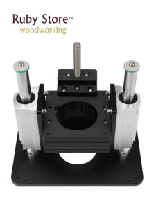 Heavy Duty Router Lift with Aluminium Router Insert Plate