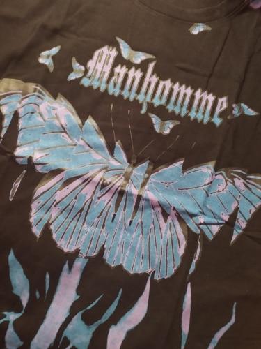 E-boy E-girl Harajuku Punk Butterfly T-Shirt photo review