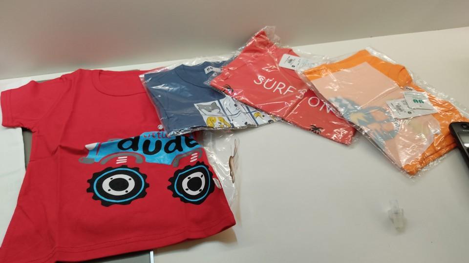 Boys T Shirt Girls Kids Children Tops Cotton Clothing Short Sleeves Summer Clothes Print Cartoon High Quality 100% Cotton Tee photo review