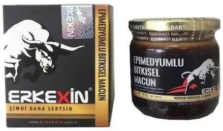 Erkexin Horny Goat Weed 240 gr. Epimedium Turkish Paste %100 Halal 4
