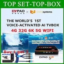 [Original] 2021 Evpad tv box sehr stabil und glatt heißer in Korea Japan Kanada USA SG AUS Thailand 4GB 32GB dual wifi Evpad 5P 6K