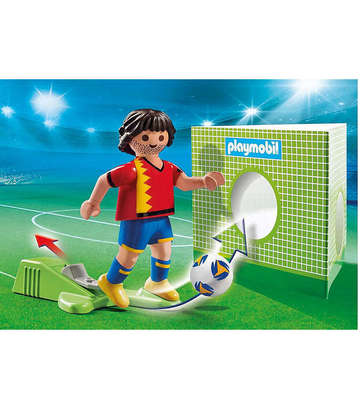 Playmobil 70482 Football Player Spain-Toy Store