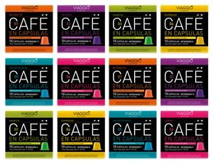 VIAGGIO ESPRESSO - 120 coffee capsules compatible with Nespresso machines (classic selection)