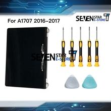 """本物の新しいグレーシルバー色 A1707 液晶ディスプレイアセンブリ 2016 2017 Macbook Pro の網膜 15 """"A1707 液晶画面完全なアセンブリ"""