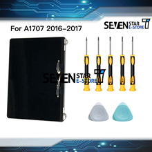 "Hakiki yeni gri gümüş renk A1707 LCD ekran meclisi 2016 2017 Macbook Pro Retina 15 için ""A1707 LCD ekran montaj"
